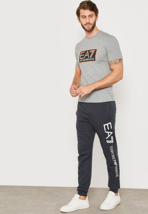 Train Logo Series Slim Fit Sweatpants