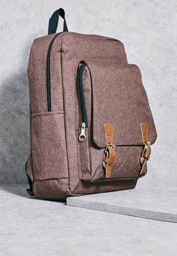 Buckle Detail Backpack