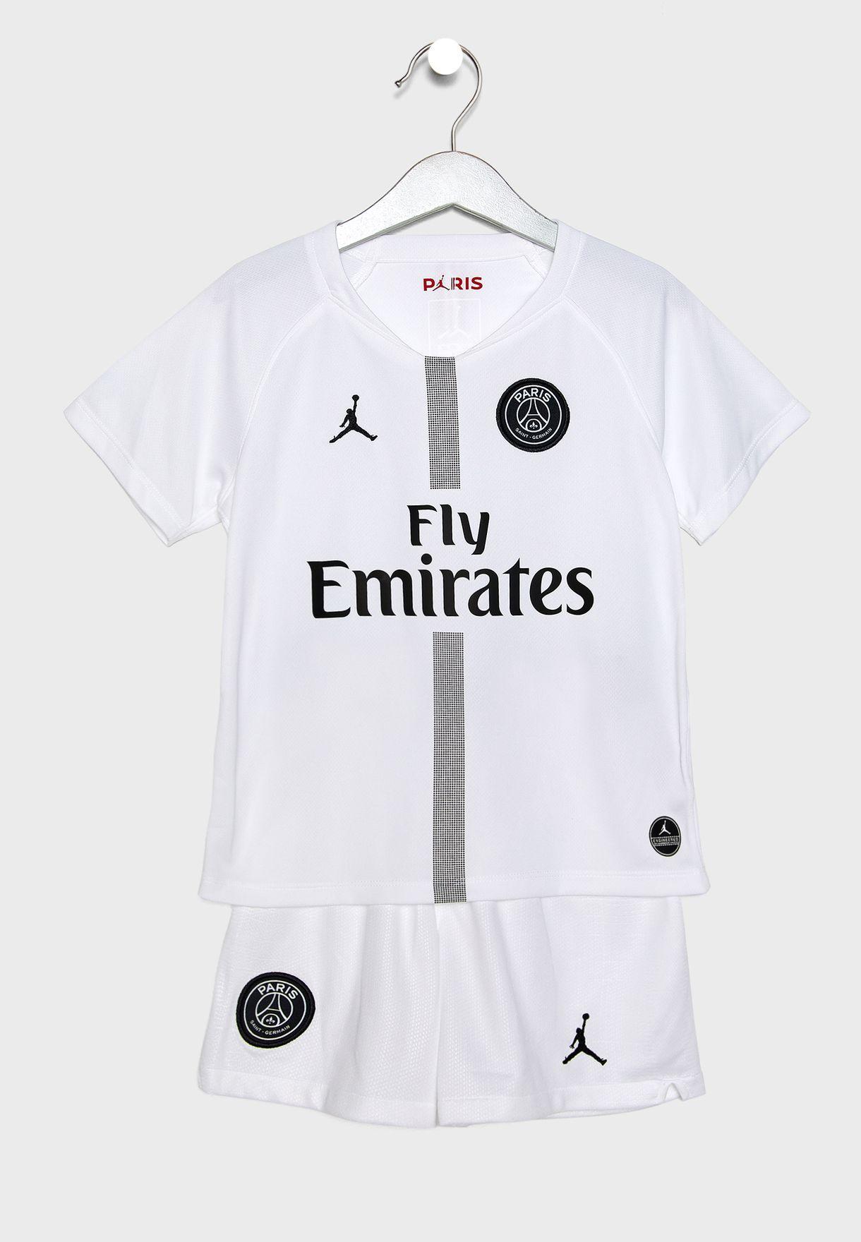 2c320d33d36a Shop Nike monochrome Kids PSG 3rd Set 919319-102 for Kids in UAE ...