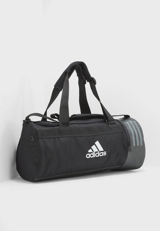 Small Convertible 3 Stripe Duffel 64a7907a870c4