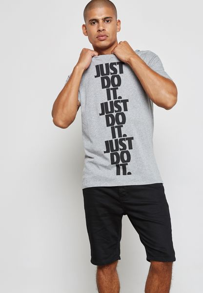 Hybrid Just Do It Stack T-Shirt