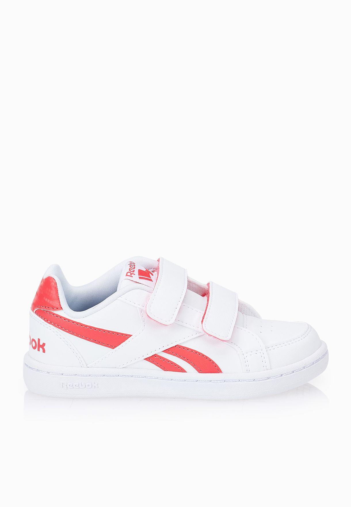 Shop Reebok white Royal Prime Kids V69998 for Kids in Qatar - RE782SH88WQP 87c401db661