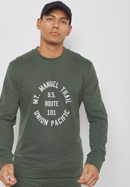 Steven Printed Sweatshirt