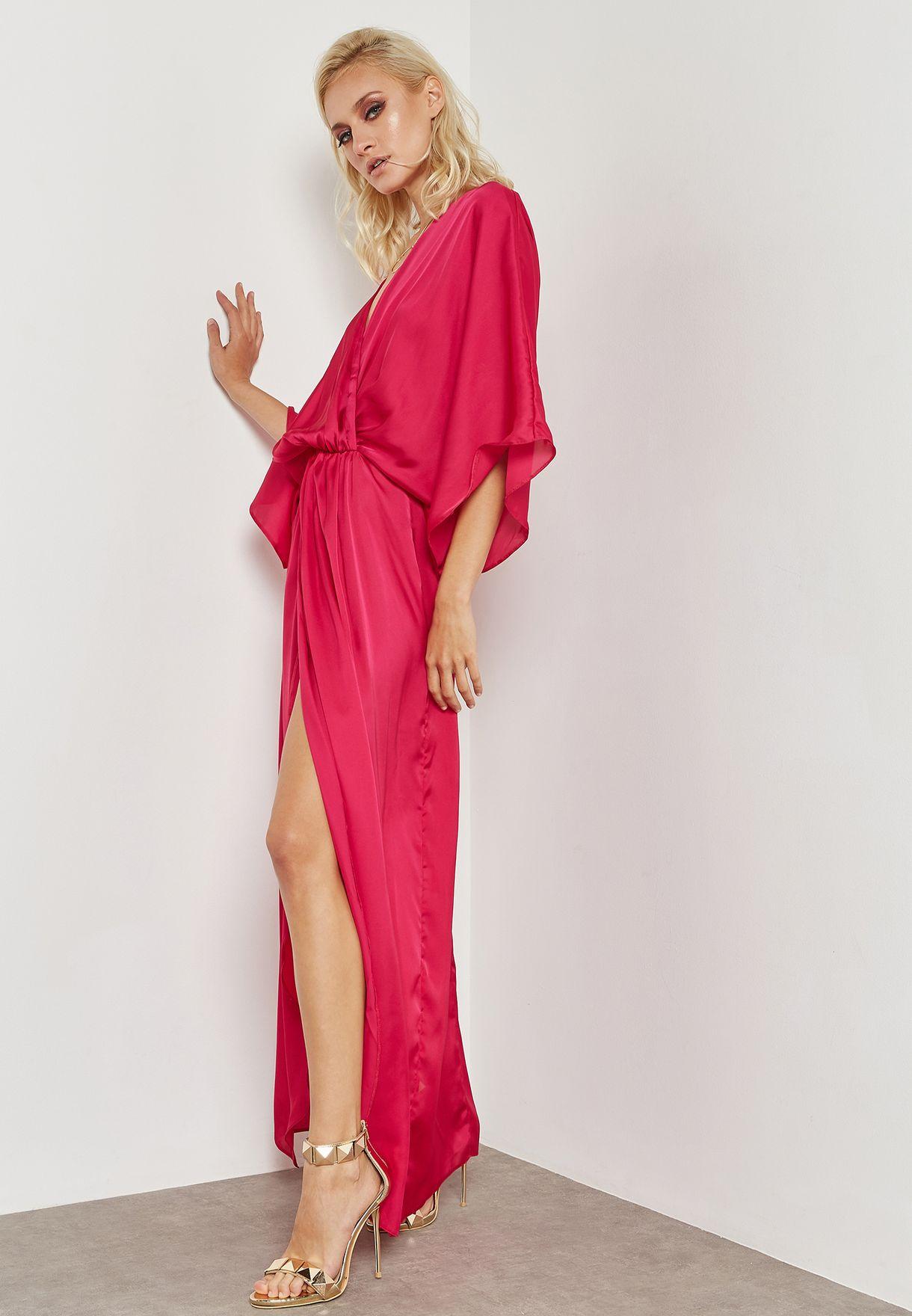 Front Split Maxi Dress
