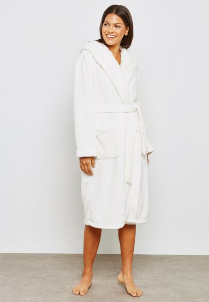 Polar Bear Belted Robe