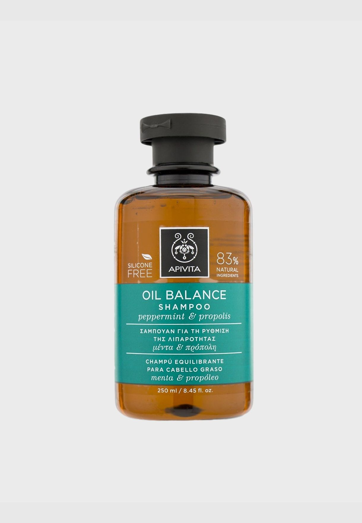 Oil Balance Shampoo with Peppermint & Propolis (For Oily Hair)