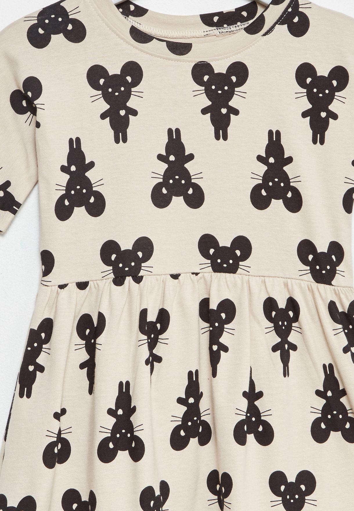 Little Mouse Swirl Dress