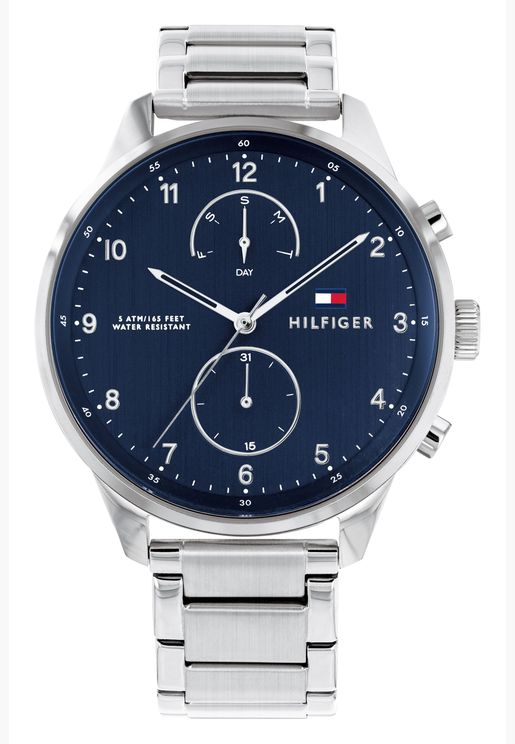 Tommy Hilfiger Chase Steel Strap Watch for Men - 1791575