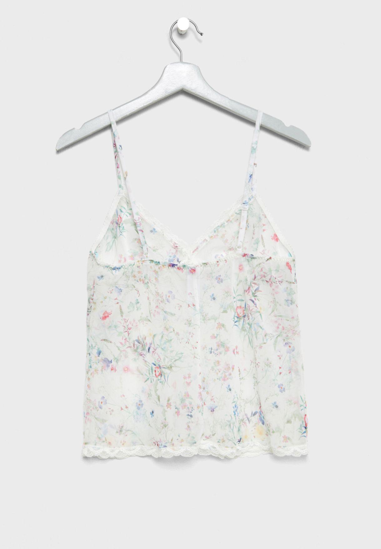 Printed Pyjama Cami