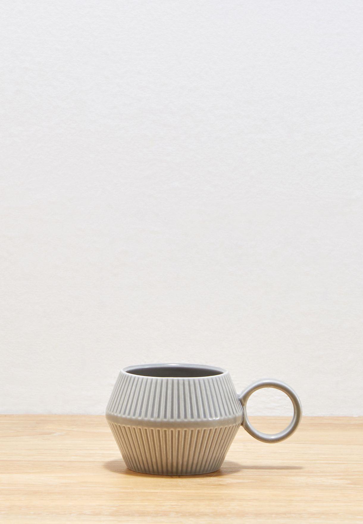 طقم (فنجان + صحن)