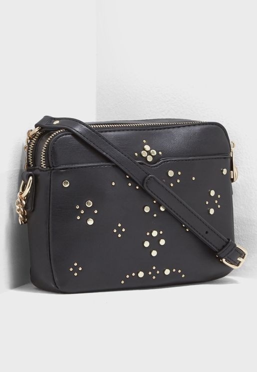Stud Camera Crossbody