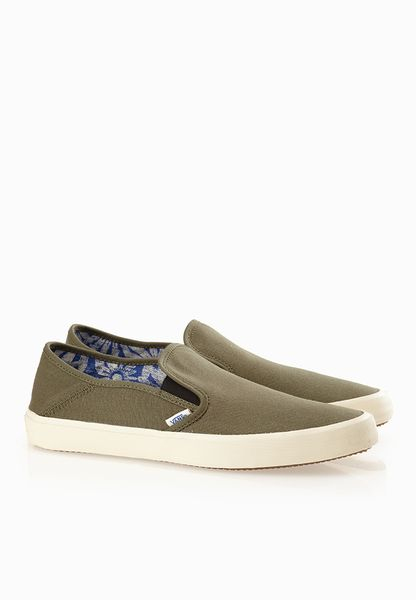 Vans Comino Slip On Olive Green Casual Shoes  Men