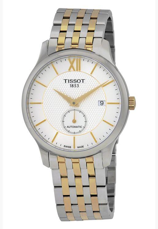 ساعة تيسو تيسو تراديشين بسوار فولاذي - T063.428.22.038.00