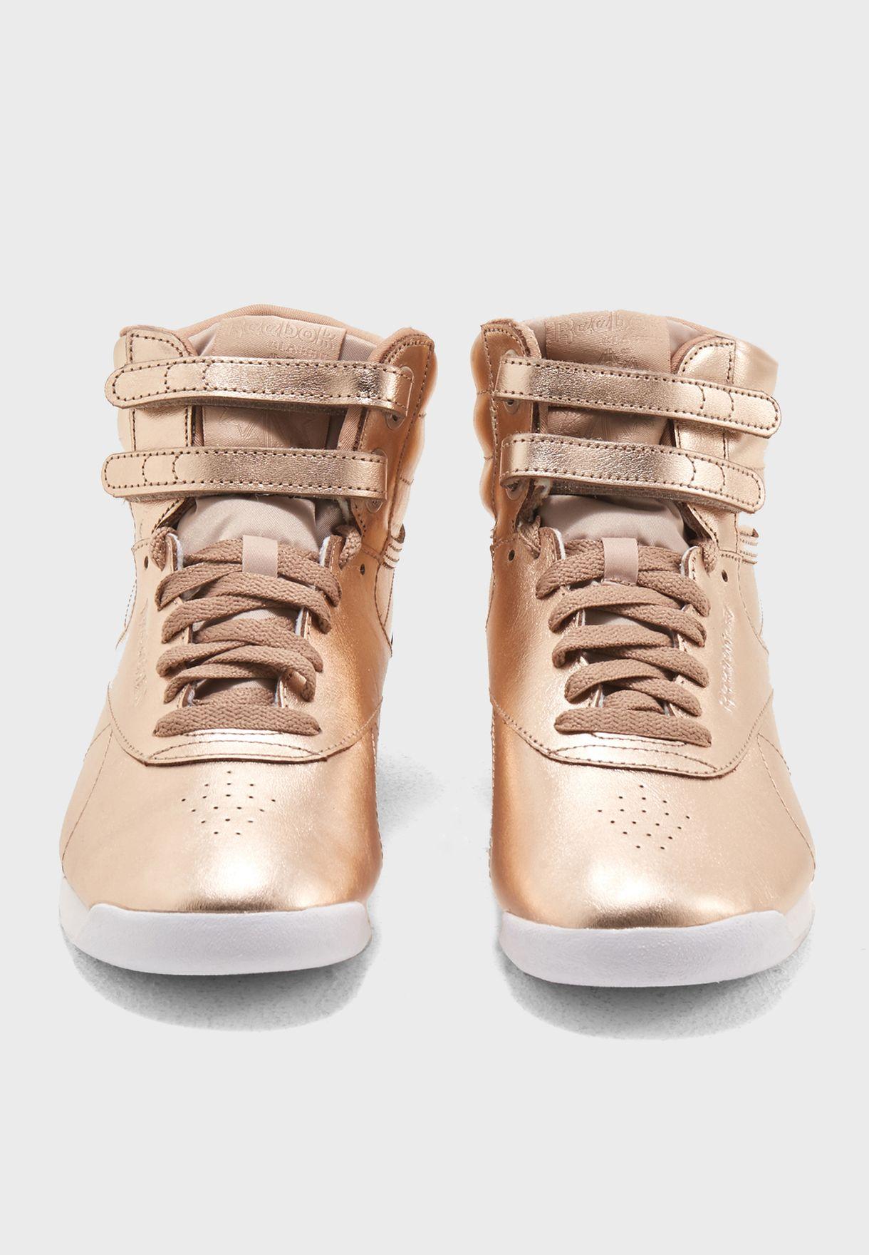 2925ffb4dcf2 Shop Reebok gold F S Hi Metallic CN0573 for Women in UAE - RE019SH78KQB