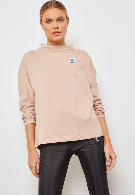 Classic Advanced Mock Neck Sweatshirt