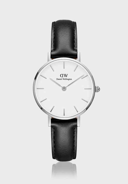 Petite Sheffield S White 28mm Watch DW00100242