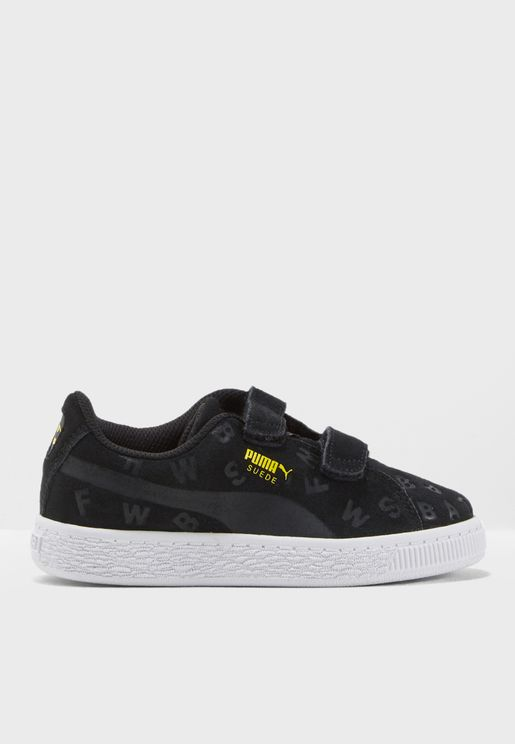 Kids Batman Suede AOP V