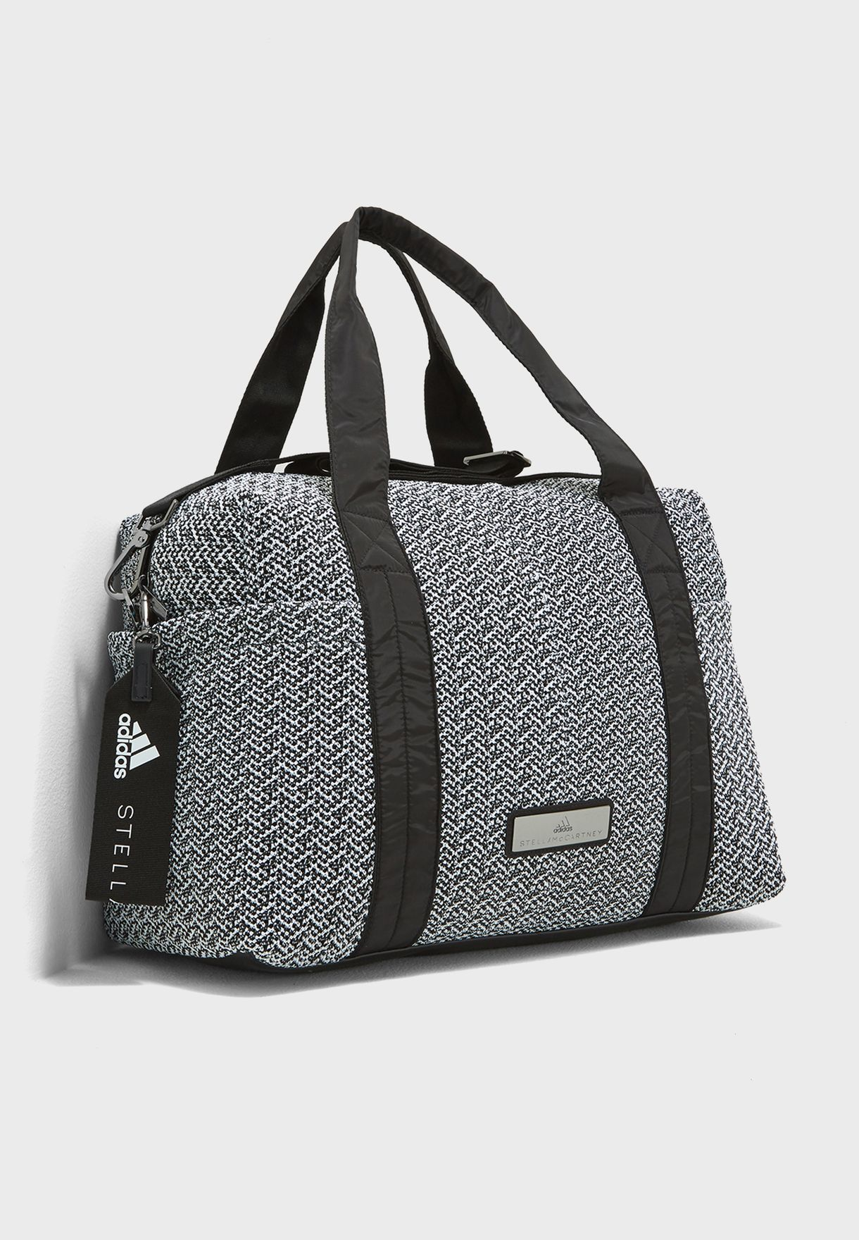 Shop adidas by Stella McCartney monochrome Shipshape Duffel CV9917 ... 43d4a473a997c