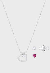f1c4901200b Shop Swarovski silver Love Set 5391766 for Women in UAE - SW493AC78AAZ
