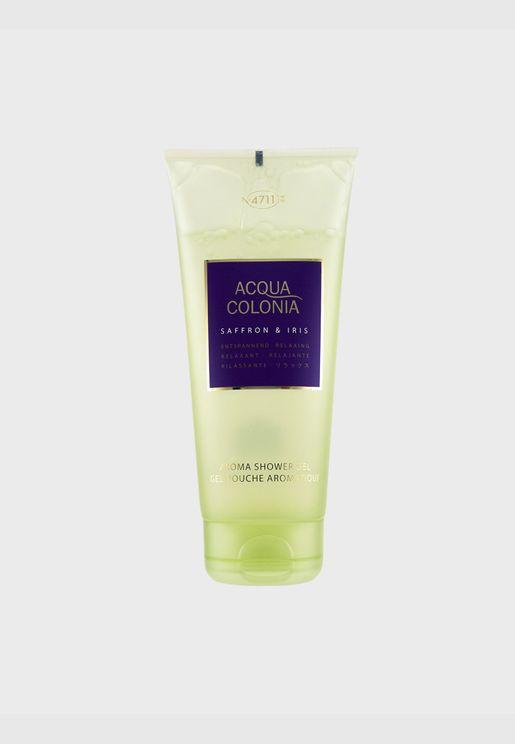 Acqua Colonia Saffron & Iris Aroma Shower Gel