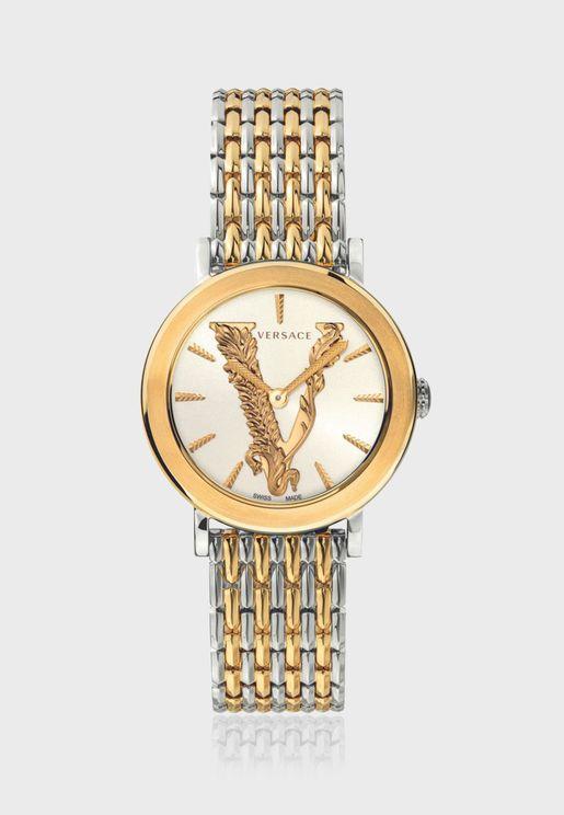 Versace VERTUS Steel Strap Watch for Women - VEHC00719