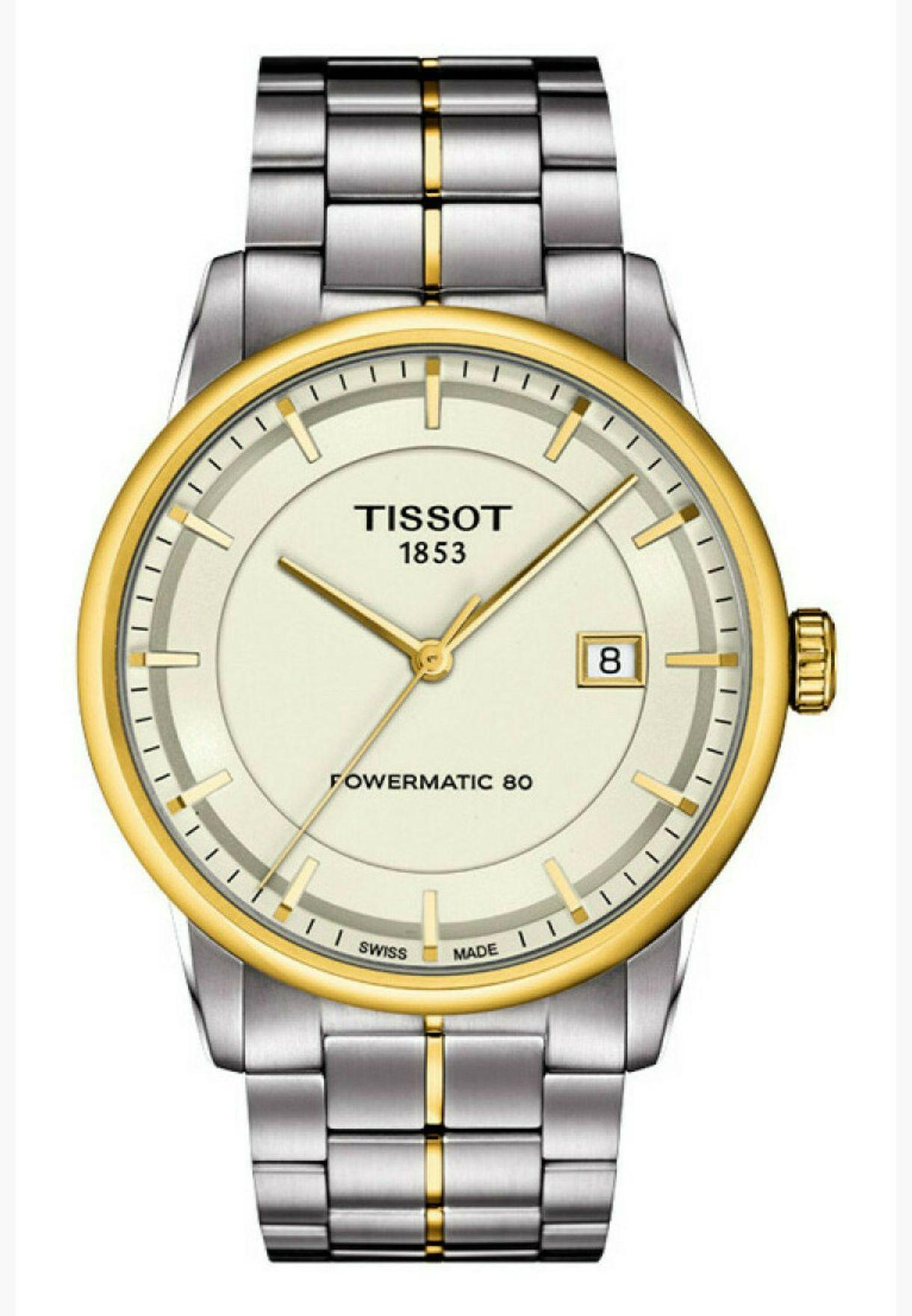 ساعة تيسو الفاخرة بسوار ستيل - T086.407.22.261.00