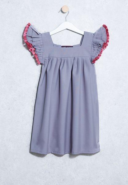Little Pompom Dress