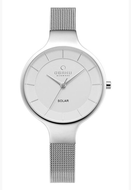Obaku Gry Mesh Strap Watch for Women - V221LRCWMC