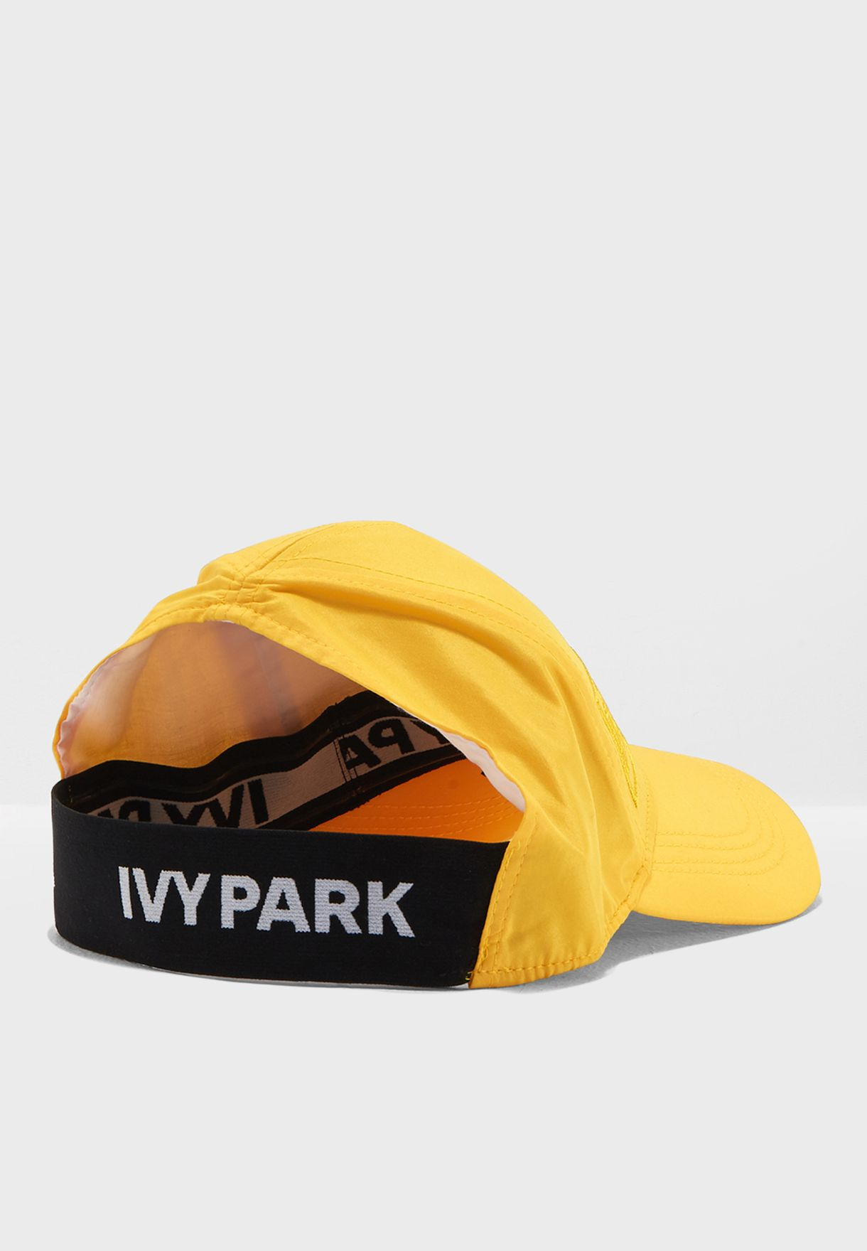 723aa38c45987 Shop Ivy Park yellow Hi Shine Running Backless Cap 29A33PYLW for ...