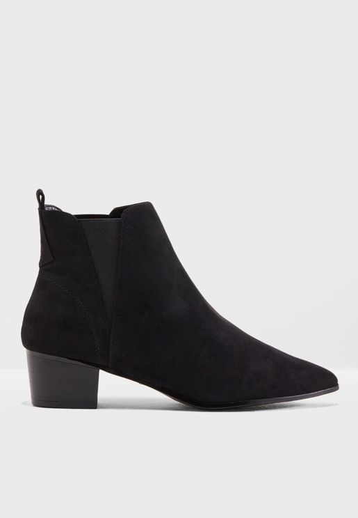 Micro Suede Chelsea Boot