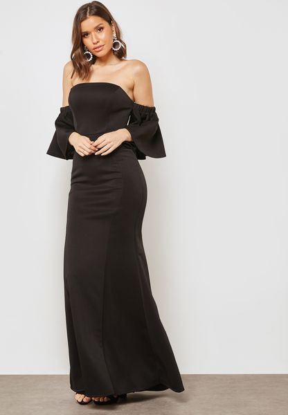 Bardot Bandeau Maxi Dress
