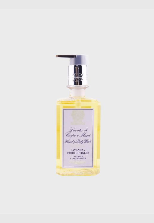 غسول لليدين والجسم - Lavender & Lime Blossom