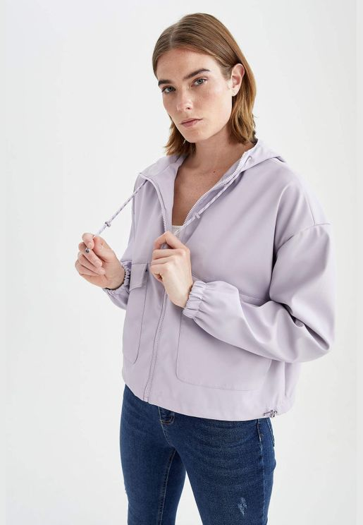 Woman Relax Fit Raincoat