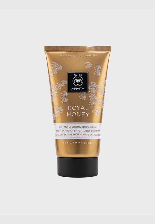 كريم مرطب كثيف للجسم Royal Honey
