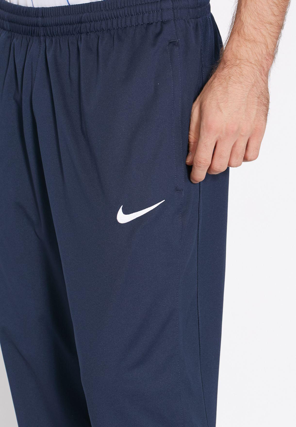 5c316092c33c Shop Nike navy Al Hilal 3 4 Sweatpants 588459-451 for Men in UAE ...