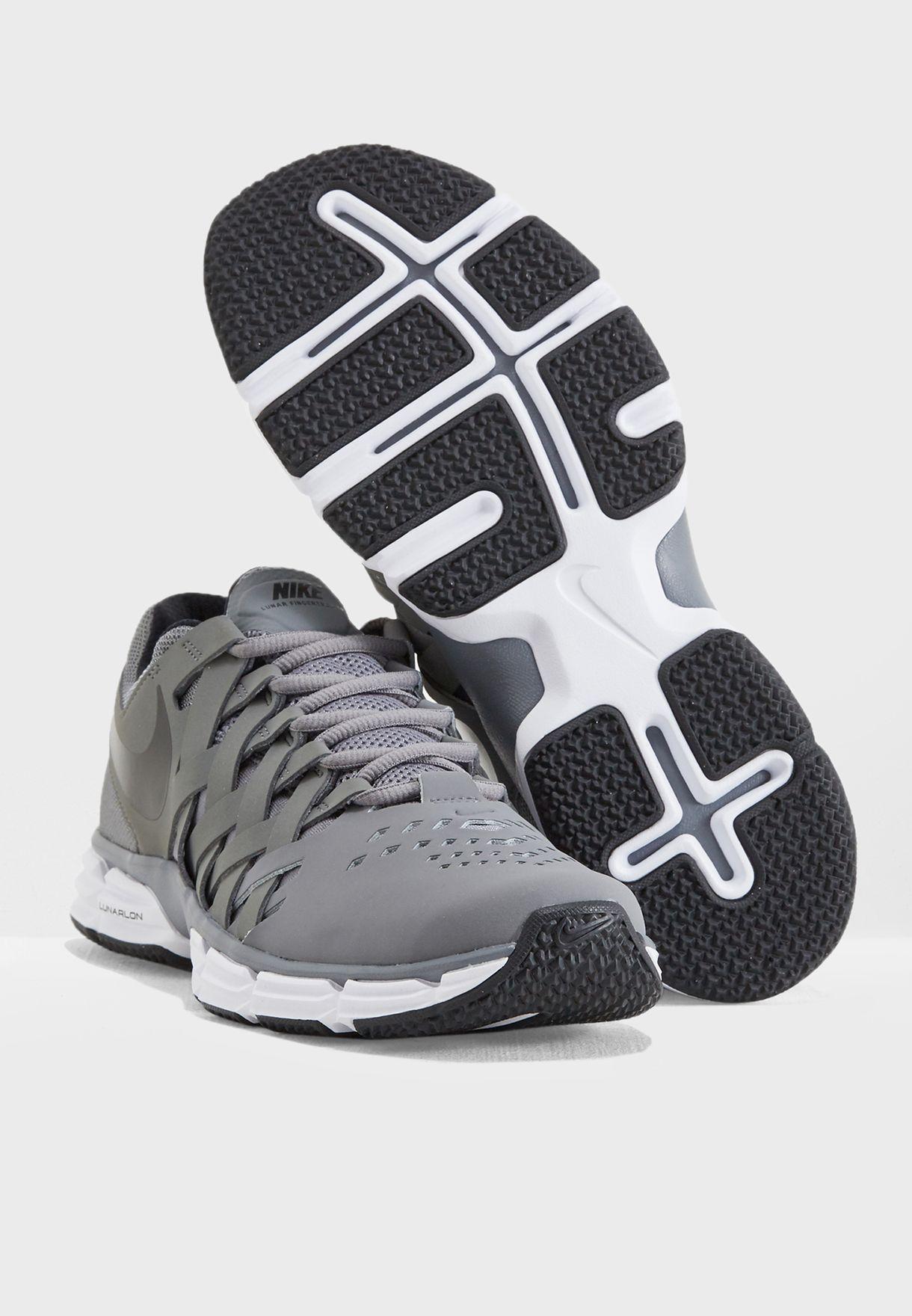 a23b3ed2173 Shop Nike grey Lunar Fingertrap TR 898066-020 for Men in UAE ...