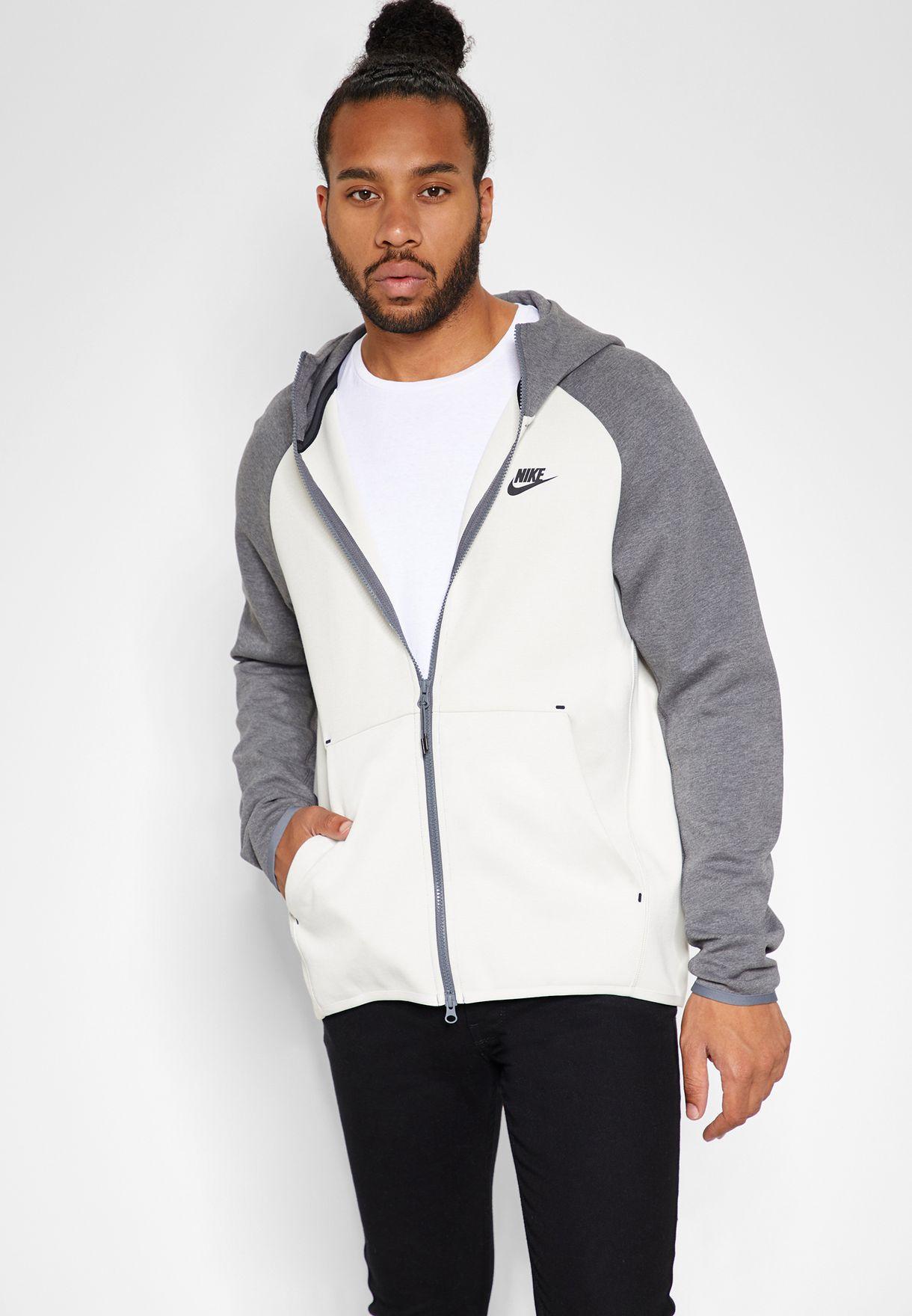 e105dd0fcef7 Shop Nike multicolor Tech Fleece Hoodie 928483-072 for Men in UAE ...