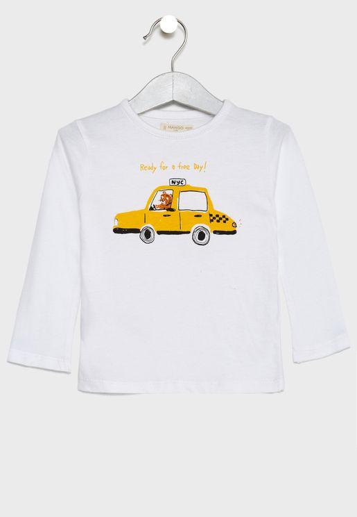 Infant Car T-Shirt