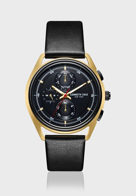 كينيث كول ساعة كلاسيك بسوار ستانلس ستيل للرجال - KC51028002