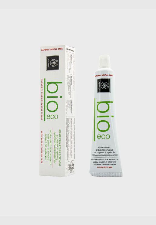 معجون أسنان طبيعي واقي بالشمرة والبروبوليس Bio-Eco