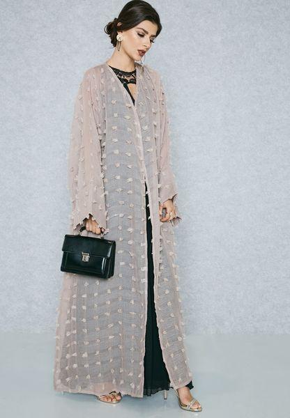 Textured Abaya