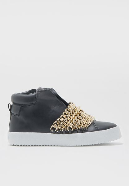 Multi Chain Ankle Boot