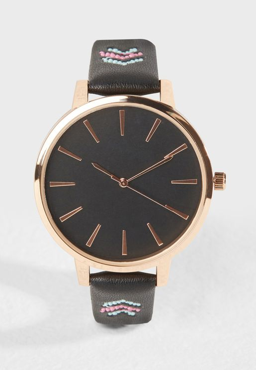 Bright Aztec Strap Watch