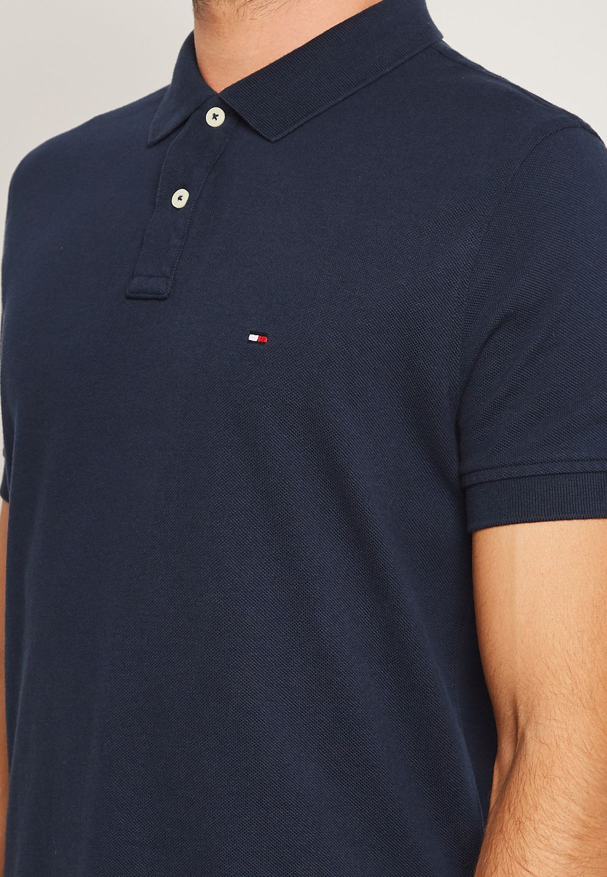 Back Logo Polo