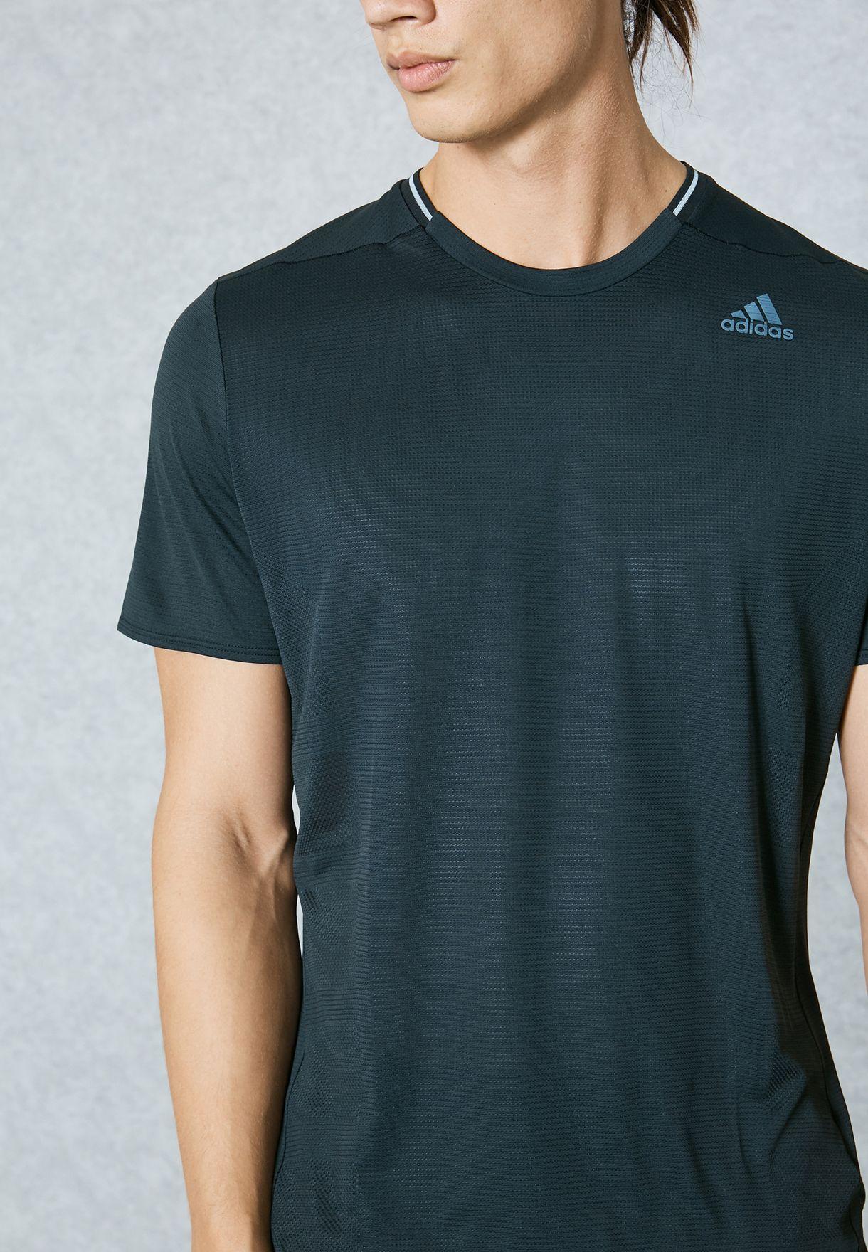 0effb4917 Shop adidas black Supernova T-Shirt BQ7267 for Men in UAE - AD476AT78HBX