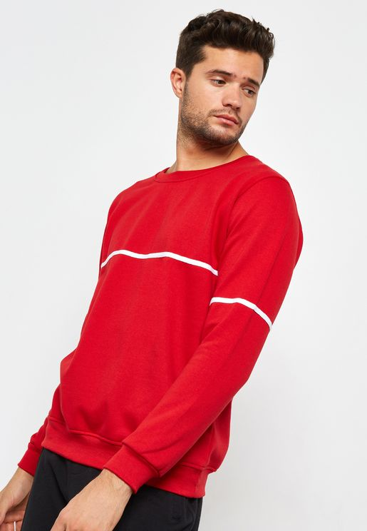 Monostripe Detail Sweater