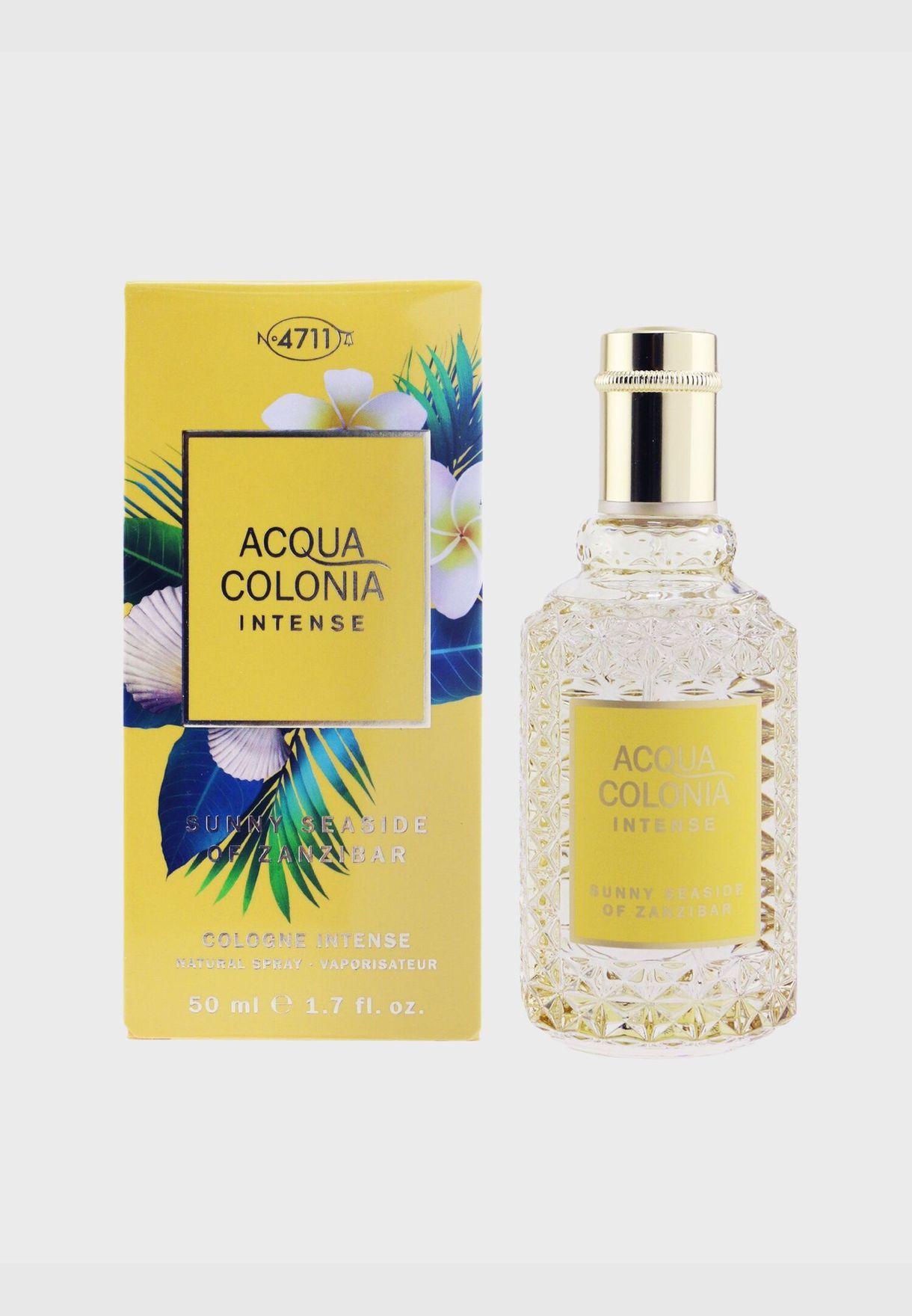 Acqua Colonia Intense Sunny Seaside Of Zanzibar Eau De Cologne Spray
