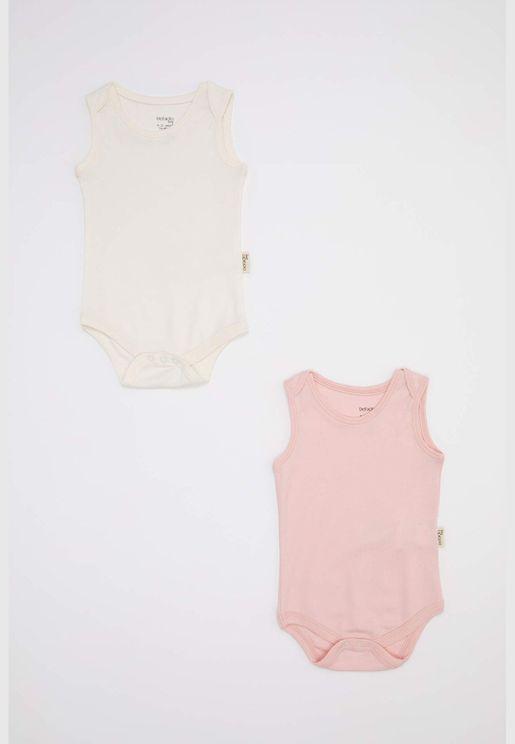 BabyGirl Short Sleeve Snap Body
