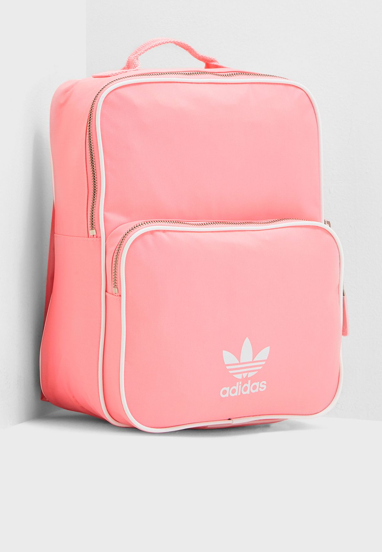 Shop adidas Originals pink adicolor Classic Backpack DH4312 for ... c211d858f39cc