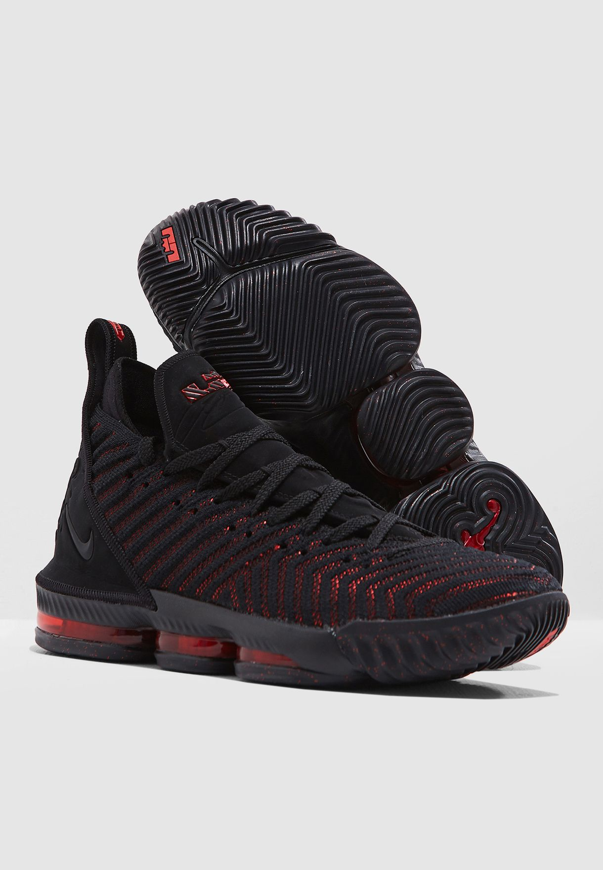 new product ff2e7 bc6a5 Shop Nike black Lebron 16 AO2588-002 for Men in Qatar - NI727SH78SUJ